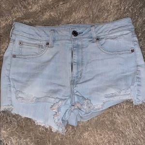 American Eagle High-rise shortie shorts